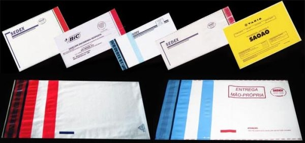 Envelope de Segurança Correios Quanto Custa na Luz - Envelope de  Plástico Correios com Adesivos