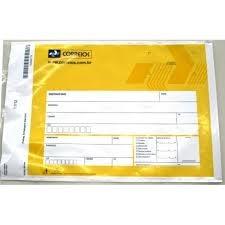 Envelope Plástico de Segurança no Parque do Carmo - Envelope de Segurança Correios