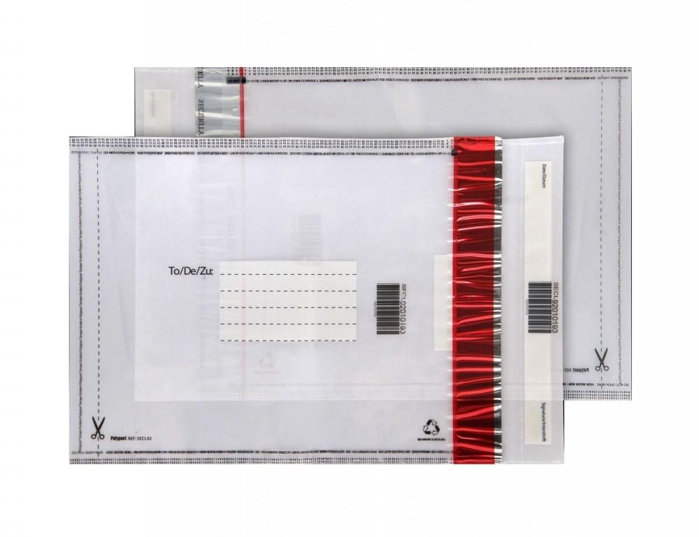 Envelopes Plásticos Adesivo VOID Cidade Jardim - Envelope Segurança VOID Adesivo Inviolável