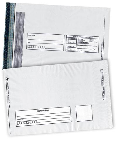 Envelopes Plásticos Tipo VOID Adesivado a Venda em Mogi das Cruzes - Envelope Segurança VOID Adesivo Inviolável