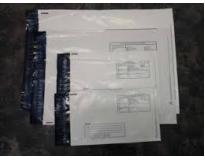 Envelope plástico documentos onde comprar em Santos