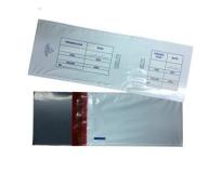 Envelope plástico sangria caixa na Lapa