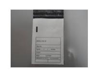 Envelope plástico sangria de caixas em Amparo