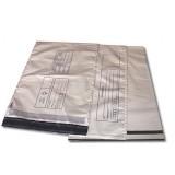 Envelope plástico segurança lacre adesivado