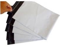 Envelope plástico transparente com aba adesiva no Grajau