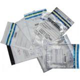 Envelope saco plástico com aba adesiva