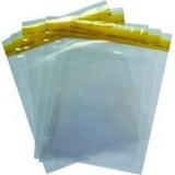 Envelopes com aba adesiva plásticos