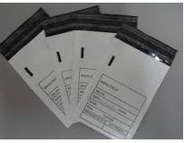 Envelopes em plásticos tipo sangria na Mooca